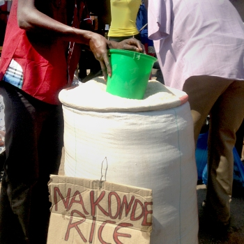 Kitwe | Rice Vendor at Kitwe Market
