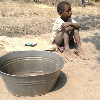 She is CHARITY, One of The Children in Zimbia Village.